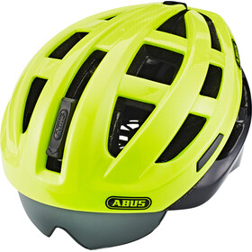 ABUS In-Vizz Ascent Cykelhjelm, green comb